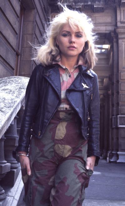 Blondie 1977 Debbie Harry London, England (Photo by Chris Walter/WireImage)
